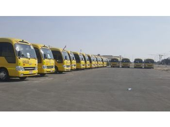 TOYOTA Coaster - / - Hyundai County .... 32 seats ...6 Buses available. - forstadsbus