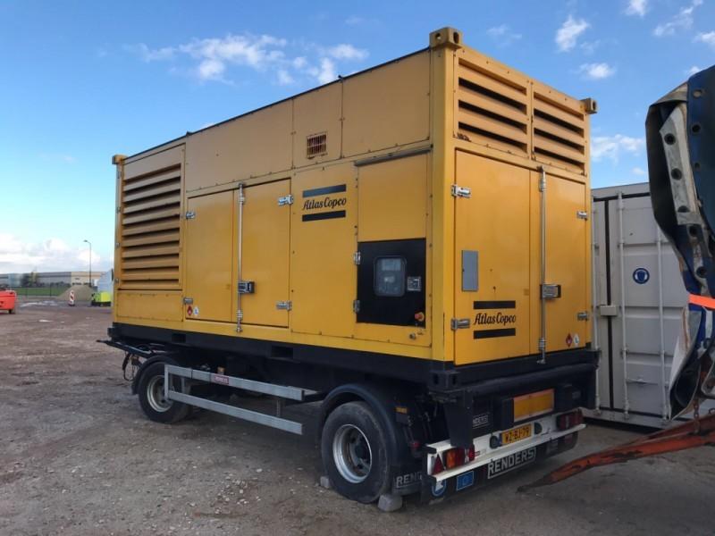Atlas Copco QAC500R Genset 500 met Deutz 1015 elektrisk