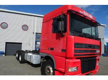 DAF 95XF-430 / SPACECAB / MANUAL / RETARDER / EURO-2 /  - container-transport/ vekselflak lastebil