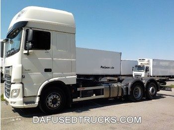DAF FAR XF480 - container-transport/ vekselflak lastebil