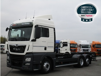 MAN TGA 26 430 containerbil EU godkjent til juni 2020 container