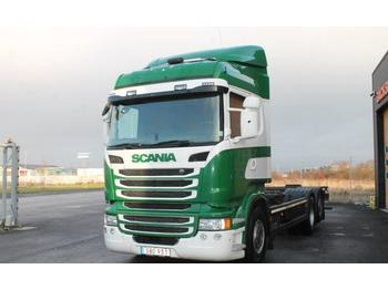 Scania R400LB6X2*4MNB  - container-transport/ vekselflak lastebil