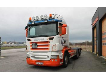 Scania R560LB6X2MNB  - container-transport/ vekselflak lastebil