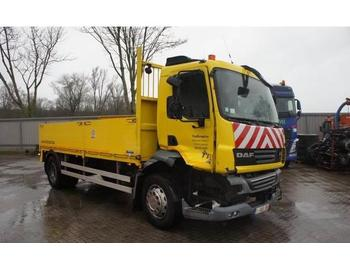DAF LF55-250 / AUTOMATIC / LOW KILOMETERS / 2011  - flatbed lastebil