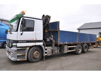 MERCEDES-BENZ 2540DNA - flatbed lastebil