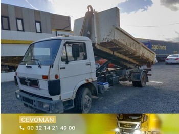 Krokbil MAN VW 10.150 Containersysteem / container
