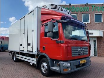 MAN TGL 12.210 KUHLKOFFER THERMOKING MULTI TEMP HOLLAND TRUCK - skap/ distribusjon lastebil