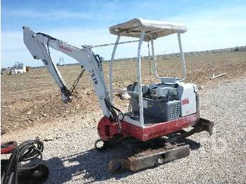 Takeuchi TB016 Mini Excavator (Parts Only) - reservedeler