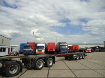 D-TEC CT-50 - 5  as combi trailer - 50.000 Kg - container-transport/ vekselflak semitrailer