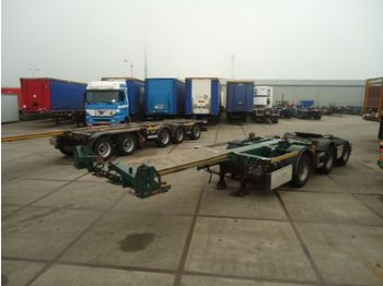 D-TEC LZV Dolly - D-Tec - 2x stuur as - EBS/ABS - container-transport/ vekselflak semitrailer