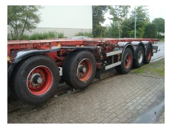 D-Tech CT5S112 - container-transport/ vekselflak semitrailer