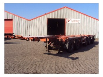 D-Tech CT5S212 - container-transport/ vekselflak semitrailer