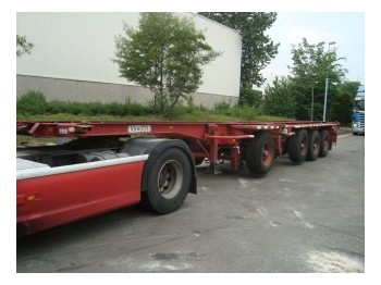 D-Tech DB3142 CS 3+1 - container-transport/ vekselflak semitrailer