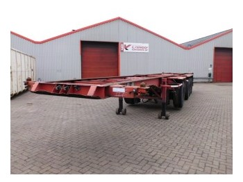 D-Tech DB 3142 CS 1+2 - container-transport/ vekselflak semitrailer