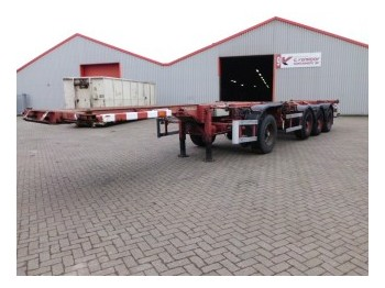 D-Tech DB 3142 CS /1+2 - container-transport/ vekselflak semitrailer