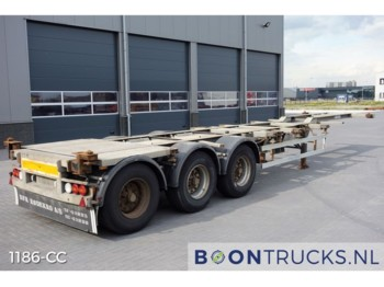 HFR 20-30-40-45ft HC*GALVANISED* - container-transport/ vekselflak semitrailer