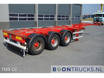 HFR SB24 20-30-40-45ft*DISC BRAKES* - container-transport/ vekselflak semitrailer