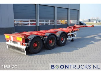 HFR SB24 20-30-40-45ft *DISC BRAKES* - container-transport/ vekselflak semitrailer