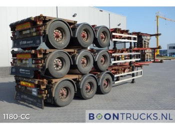 HFR *STACK OF 3 * 20-40-45ft *DISC BRAKES* - container-transport/ vekselflak semitrailer