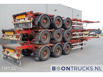 HFR *STACK OF 3* SB24 20-40-45ft *DISC BRAKES* - container-transport/ vekselflak semitrailer