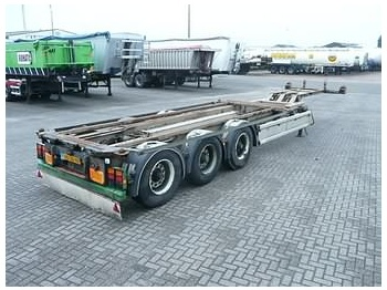 RENDERS WITH SLIDING TABLE - container-transport/ vekselflak semitrailer
