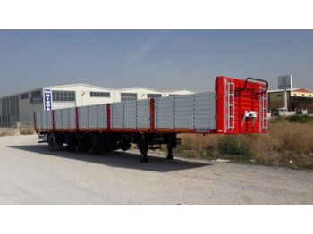 LIDER 2017 MODEL NEW LIDER TRAILER DIRECTLY FROM MANUFACTURER FACTORY - flatbed semitrailer