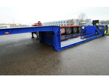 Faymonville Tiefbett  1 axle  extrem low  - lavloader semitrailer