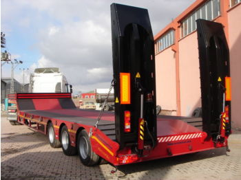 LIDER 2017 YEAR NEW LOWBED TRAILER FOR SALE (MANUFACTURER COMPANY) - lavloader semitrailer