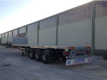 LIDER 2017 YEAR NEW MODELS containeer flatbes semi TRAILER FOR SALE (M - plattform semitrailer