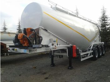FATIH TRAILER New Fatih Cement Tanker Trailer with BPW axle and Electrical Pu - tank semitrailer