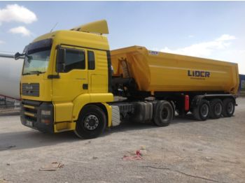 LIDER 2017 NEW DIRECTLY FROM MANUFACTURER COMPANY AVAILABLE IN STOCK - tipp semitrailer