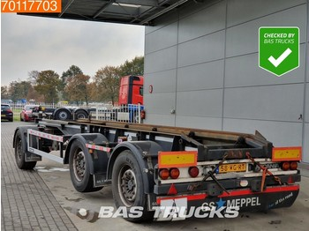 GS Meppel AIC-2700 N Containerchassis Liftachse - container-transport/ vekselflak tilhenger