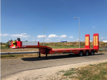 OZGUL LW3 Axles Lowbed Semi Trailer 2.5m 52T Dutch registration OR-27-NL - lavloader tilhenger