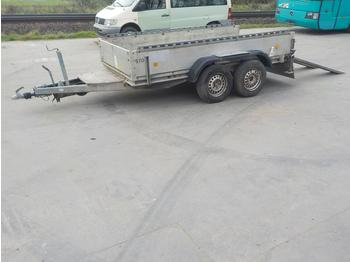 Böckmann 2500Kg Twin Axle Trailer, Ramps - planhenger/ flathenger