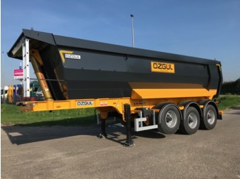 OZGUL G10F 24 cbm Triple Axles End Dump Trailer - tipp tilhenger