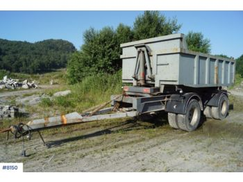 Tipp tilhenger Triolift 2 axle tipper trailerwith spreading limb