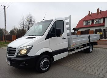 Mercedes-Benz Sprinter - varebil med plan