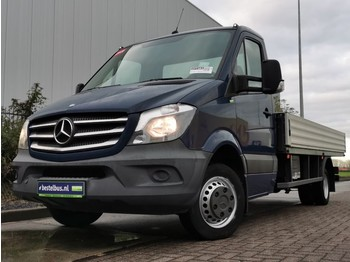 Mercedes-Benz Sprinter 516 xl openlaadbak a/c - varebil med plan