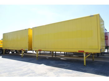 KRONE BODY BDF CONTAINER BOX CLOTHES CARRYING WK 7.7 NSTGI - vekselflak - varebil